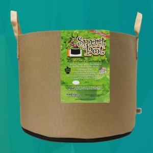 tan smart pot with handles